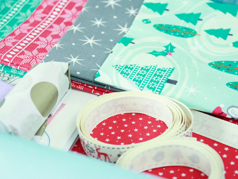 Christmas Fat Quarter Projects